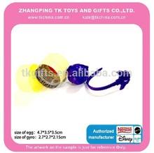 mini giroscópio dentro do ovo surpresa produtor de brinquedos da china