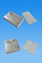 Weatherproof Electric pvc/abs Switch Boxes/electrical pvc junction boxes