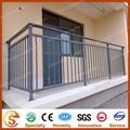 China hizo balcón parrilla diseños de malla balcón esgrima de aluminio barandillas para balcón