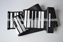 88 keys folding piano silicone flexible piano keyboard, DedoMusic roll up piano