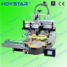 automatic flat bed screen printing machine ceramic plate