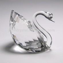 popular decoration crystal swan for arabic wedding gifts MH-7040