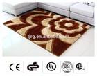 luxury customized waterproof exhibition 3d carpet living room
