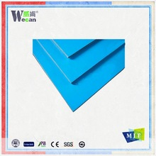 Wecan wall cladding aluminum building mateiral both sides pe painting aluminum composite panel