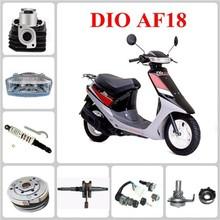 Starting motor/oil pump/crankcase/piston for DIO AF18