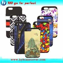 silicon plastic for iphone 6 custom case