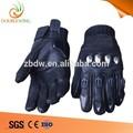 เสริมสร้างสีดำถุงมือหนังวิบาก