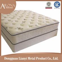 Soft sofa compressed bonnell spring hotel bed mattress/bonnell spring mattress with knitted fabric