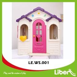 Garden Outdoor Plastic Cubby House/Toddler Plastic Playhouse for Kindergarten