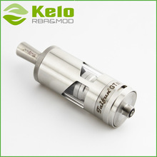 Glass tank in a stainless steel sleeve Airflow control with 10pcs air holes Taifun GT 2 RBA