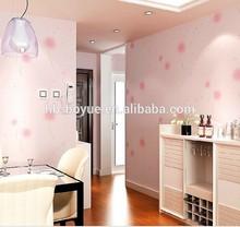 Natural rustic vintage 3D effect design pvc wallpaper for living room bedroom