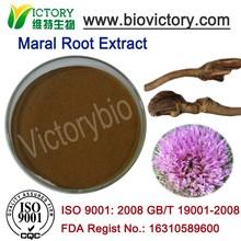 Stress Reducing Maral root extract leuzia carthamoides capitula