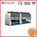 ( c) etileno glicol de parafuso de ar industrial de refrigeração refrigerador de água da planta para a refrigeração de cogumelos