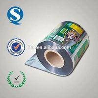 plastic printing film on roll
