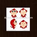 piacevole e di alta qualità cartoon poco scimmia tatuaggi temporanei bambini