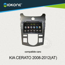 wifi 3g internet capacitive android car radio dvd player with GPS navigation for KIA CERATO auto 2008-2012