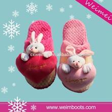 Lastest fashion newest design sheepskin slippers women