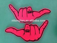 Promotion eva giant wave foam finger cheering hands
