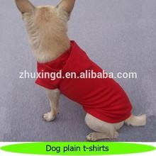 Best selling wholesale dog plain t-shirts