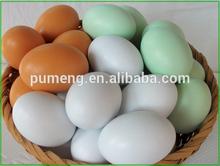 de madera de huevos de pascua para la decoración