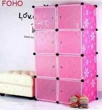 Small cupboard foldable wardrobe cupboard cheap folding cupboard wardrobe (FH-AW0822-8)