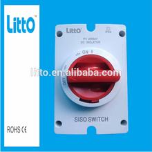 Australian Standard 4P Isolator 1200V DC Switch