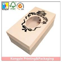 With PVC Window High Quality Paper Box,China paper box ,Cheap paper box