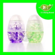 2015 OEM Air Freshener Scented Solid Gel Crystals/Deodorant