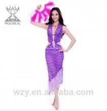 hot girl high quality lace Belly Dance Dress latin ballroom dresses women
