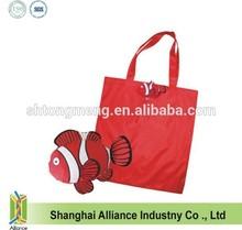 190T polyester Fold up Fish shopping bag(CFA-127)