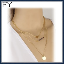 Big Sales Delicate Gold Layer Necklace Set