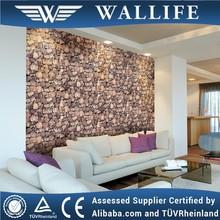 ZR10104 Paper backed cheap modern 3d stone wallpaper
