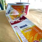 Alibaba Custom Print Laminating Food Package Film PE/BOPP,PE/PET/VMPET,PET/AL/PE