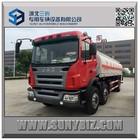 gasoline fuel tanker truck 25000L refueller tank truck 6x2 fuel tanker truck