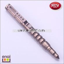 aerial aluminium 6061-T6 self defense pen in screw shape