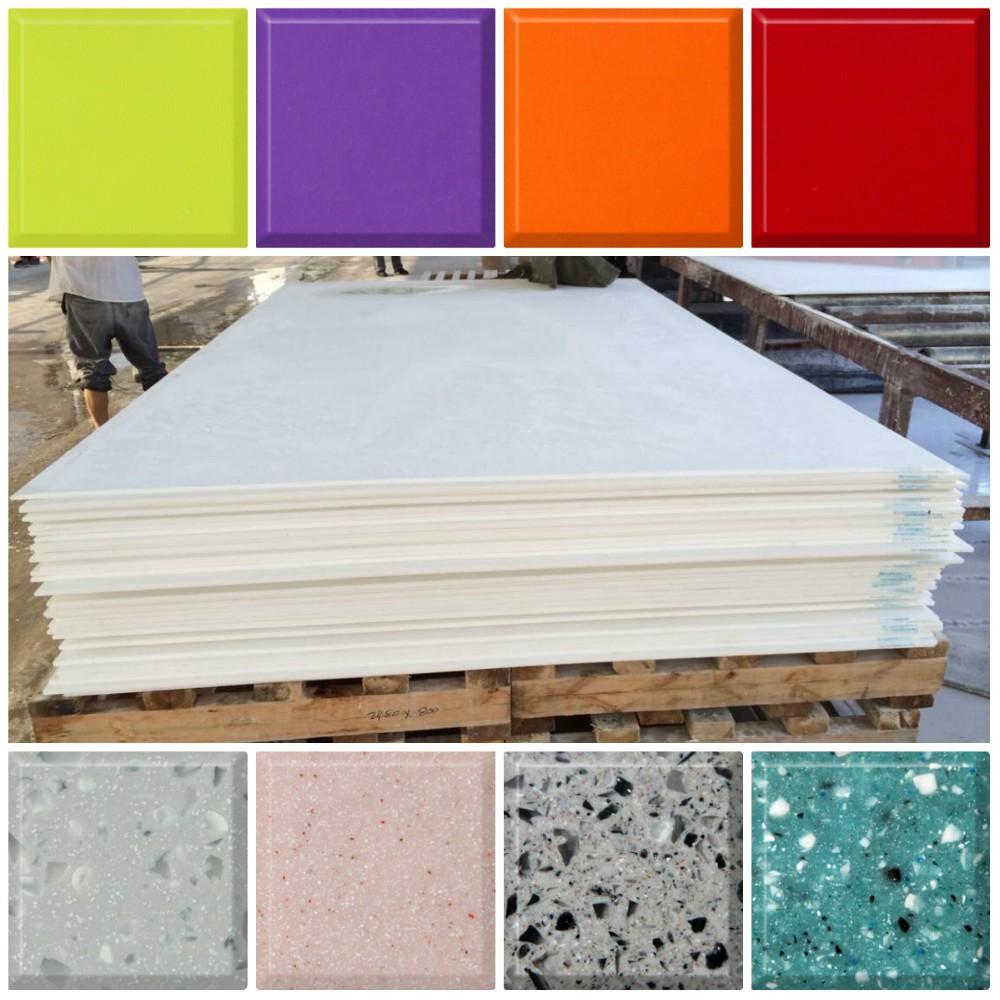 Marmeren Keuken Plaat : Shenzhen Tell World Solid Surface Furniture Co., Ltd. [Geverifieerde]