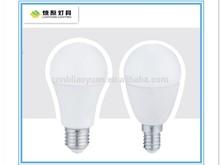 China supplier hot sale 6w energy saving e14 e27 led lighting bulb