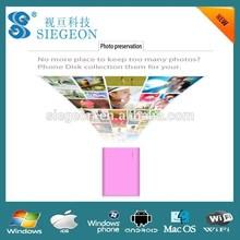 Customized Design Business card wifi usb flash drive wireless smartphone cheap 1gb usb stick