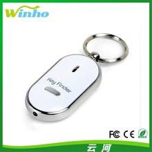 Winho Whistle Sound Control LED Key Finder keychain