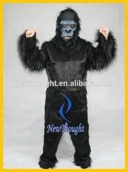 New adult gorilla mascot costume