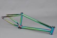 Chromoly4130 Butted oil slick frame city bike frame