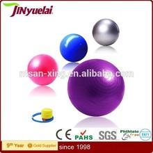 Eco friendly Anti-burst customers logo fitness/exercise/gym custom yoga ball