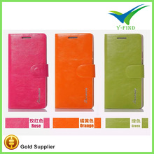 2015 New Blank cell phone case wallet leather case for huawei 3c