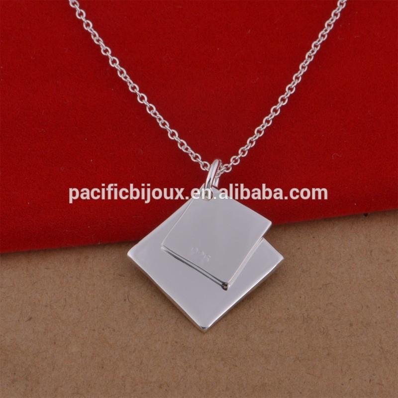 italian ebay cute silver couple necklace jewelry wholesale