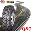 DOT, ECE, EU label, LongMarch tire, all steel radial truck tire from Q and J