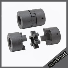 Hunsome electric motor shaft coupling Jaw Coupling with good quality