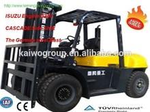 7 Ton ISSUZU Diesel Forklift Trucks with best price for sale