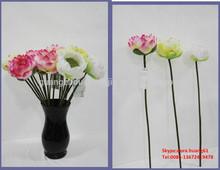 SJH010709 artificial flowers single silk flowers russia styles flowers