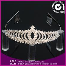 tiara&crown for girls&boys Bridal Prom Tiara wedding crown