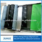 2/3/4mm thickness roofing felt adhesive/bitumen membrane sheet/self adhesive roof felt